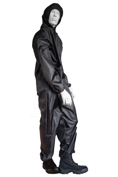 Polyester Coverall Black