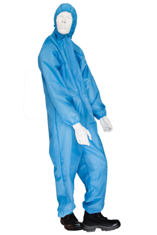 Polyester Coveralls Sky Blue