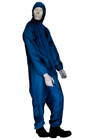 Polyester coveralls navy blue